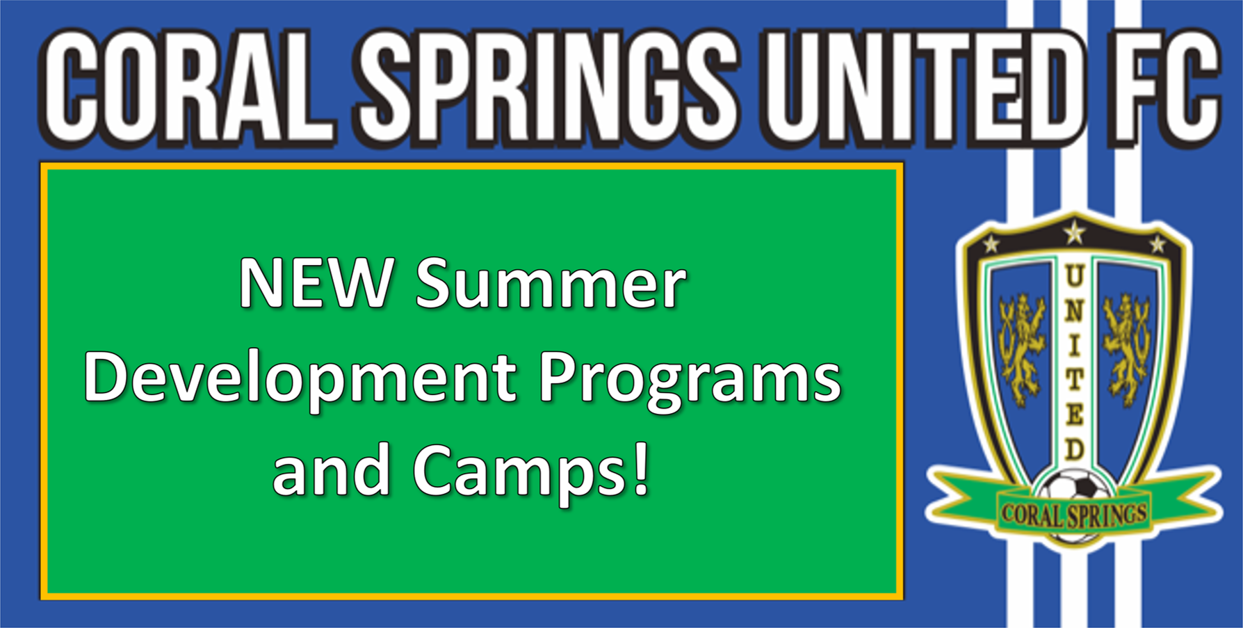 2018 Summer Development Programs and Camps