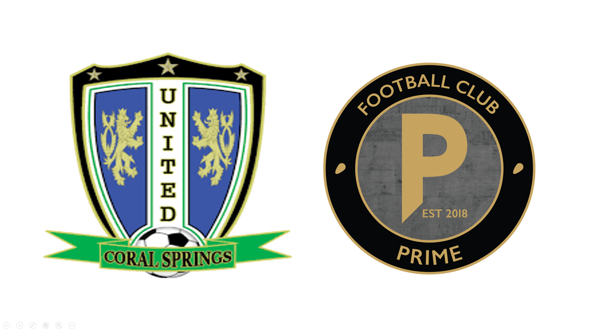Coral Springs United and FC Prime Form Partnership